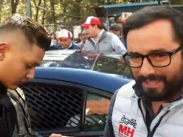 Photo of #Vídeo Alcalde De Miguel Hidalgo Es Arrestado Por Querer Remodelar Parque Y Horas Después Liberado