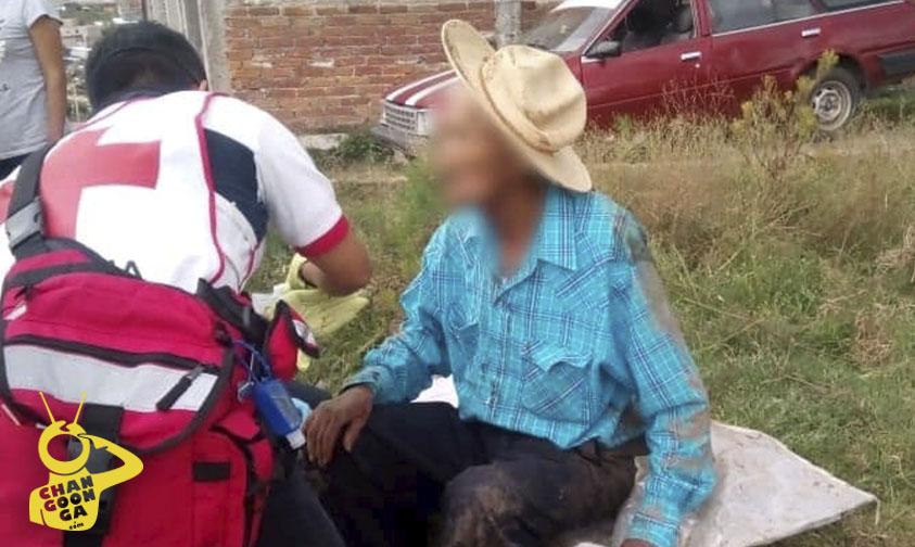 Photo of #Morelia Al Caerse Abuelito Se Encaja Una Vara En La Garganta En Colinas Del Sur