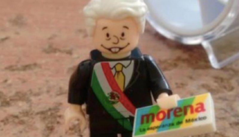 Photo of Para Los Amlovers Llegó Versión Lego De AMLO