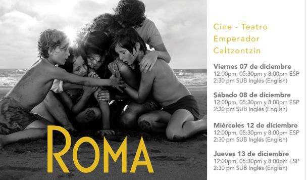 Photo of Abren Venta De Boletos Para Ver 'Roma' De Cuarón Por 5 Días En Teatro Emperador De Pátzcuaro