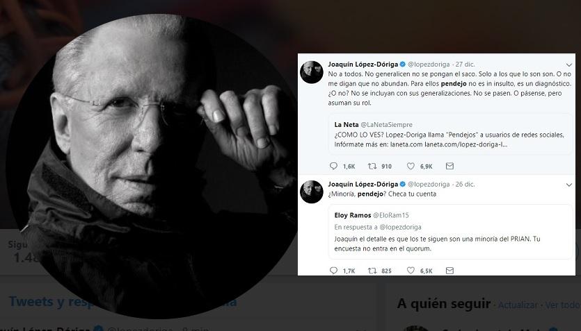 Photo of López Dóriga Se Descontrola Y Se Pone A Pendejear A Tuiteros