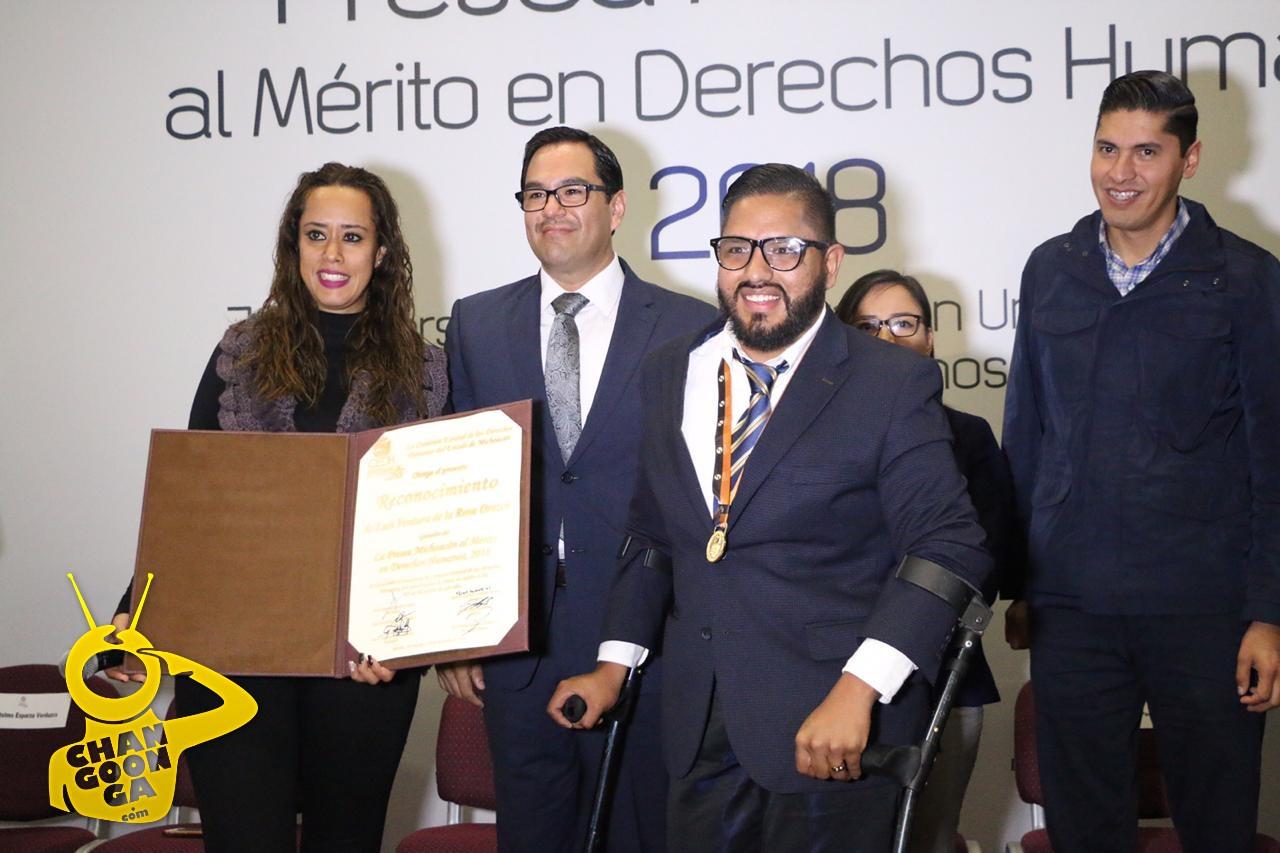 Photo of Por Contribuir Con Inclusión Activista Con Discapacidad Recibe Presea Michoacán Al Mérito En Derechos Humanos