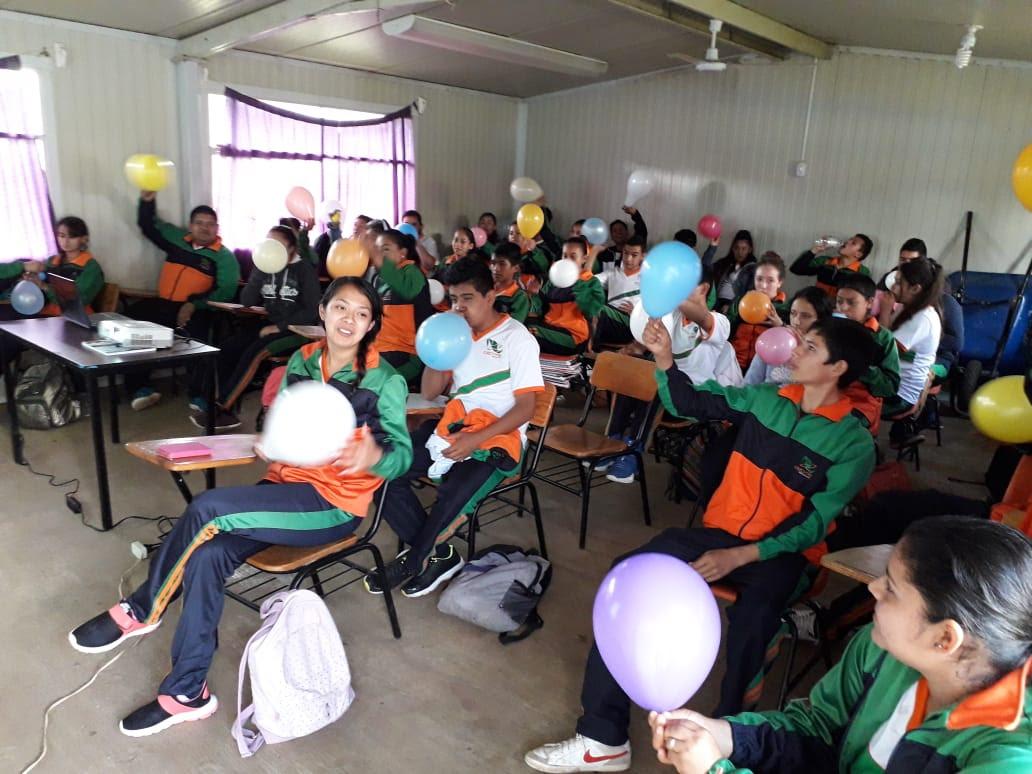 Photo of #Michoacán Chaviza Estudiantil De Ario Disfrutó Del Programa Construye-T