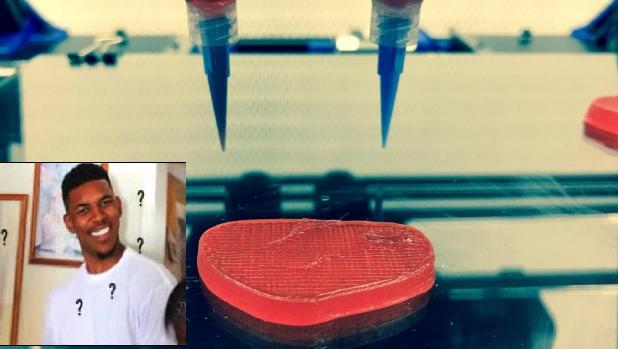 Photo of #WTF Inventan Bistec Vegano Hecho Con Impresora En 3D