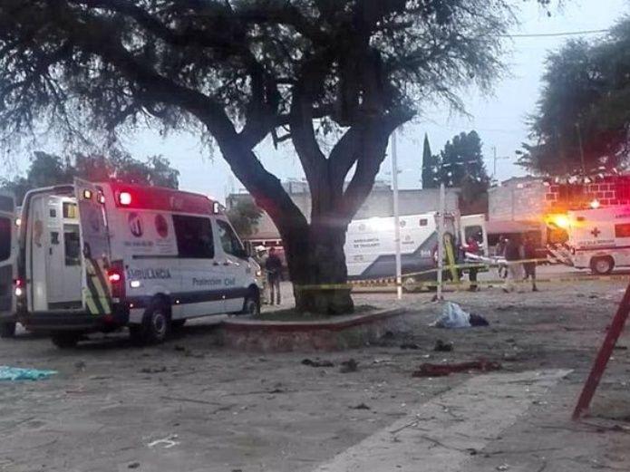 Photo of #Vídeo Explosión De Pirotecnia En Capilla Deja 3 Muertos Y 7 Heridos