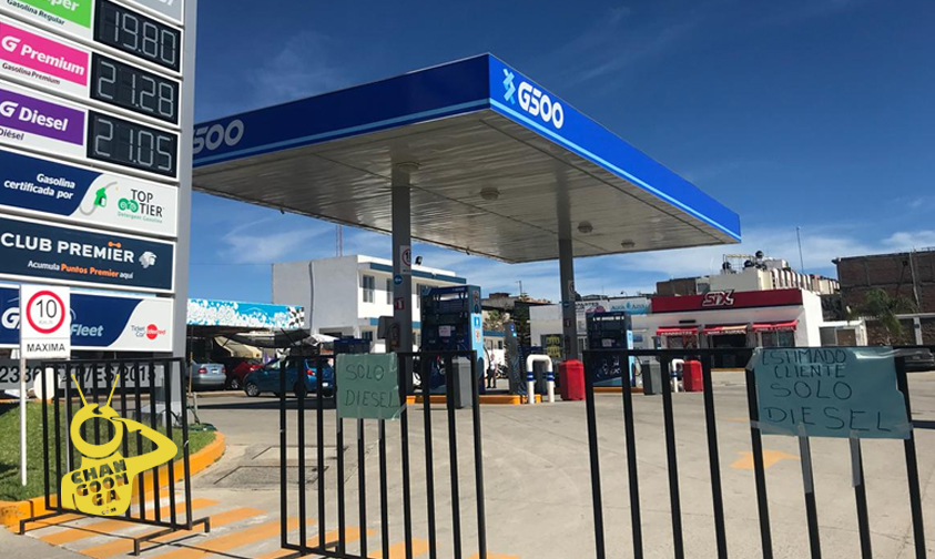Photo of Al Sur De Morelia También Es Notorio Desabasto De Combustible