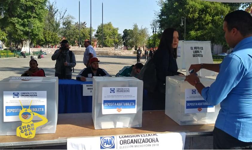 Photo of #Morelia Militantes Del PAN Acuden A Elecciones De Representantes Estatales