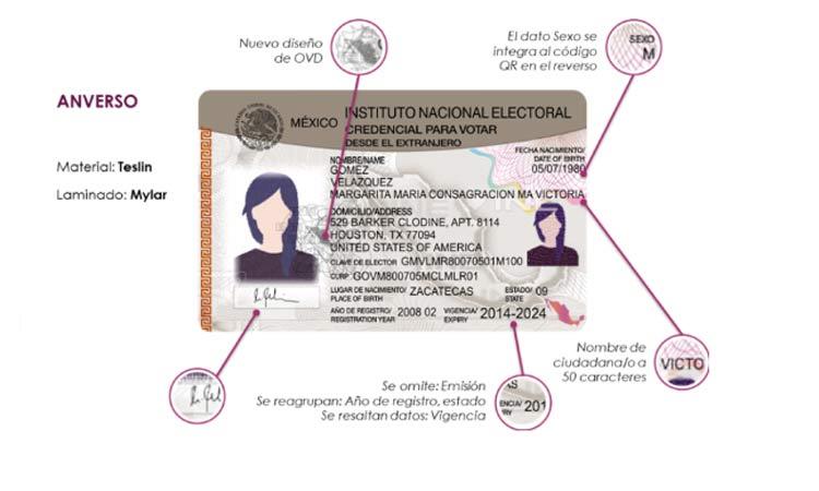 Photo of Ya Aprobó INE Nuevo Diseño De Credencial De Elector