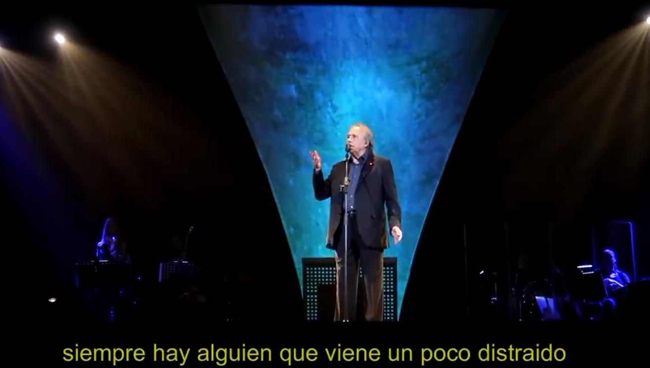 Photo of #Video Serrat Detiene Concierto Para Regañar A Fan Grosero