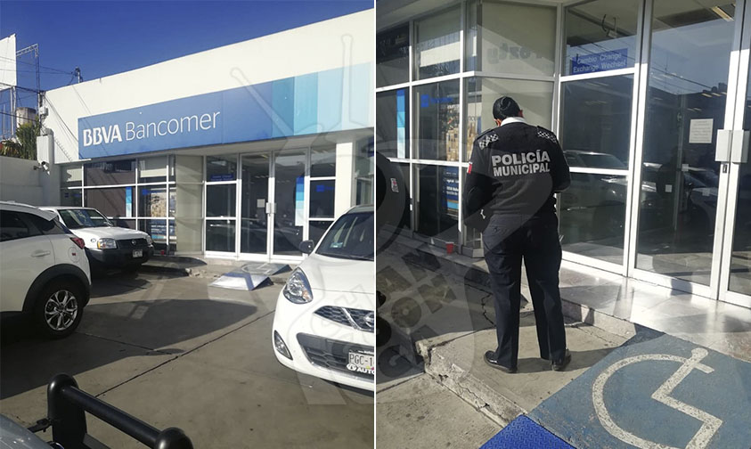 asalto Bancomer Morelia