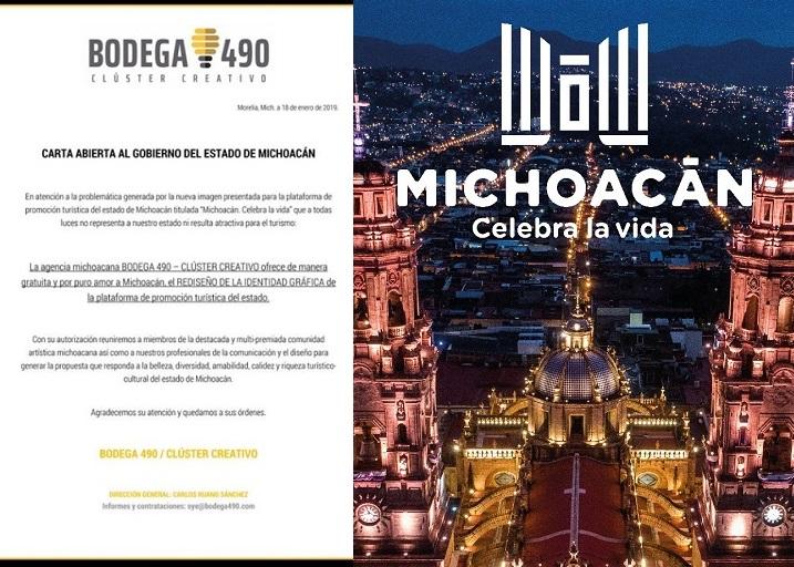 """Photo of #Michoacán Diseñadores Se Ofrecen De A Gratis Cambiar La Nueva Identidad Turística Por """"Fea"""""""