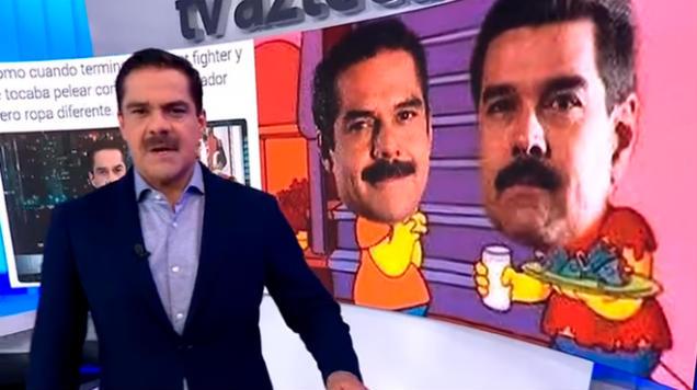 Photo of #Vídeo Trollean Alatorre Con Memes De Nicolás Maduro