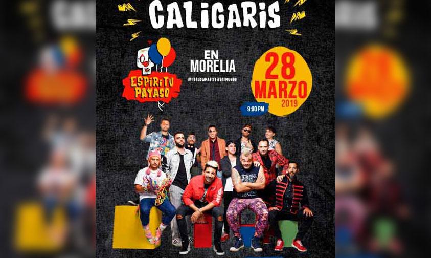Photo of #Morelia Confirmadísimo Concierto De Los Caligaris En Palacio Del Arte