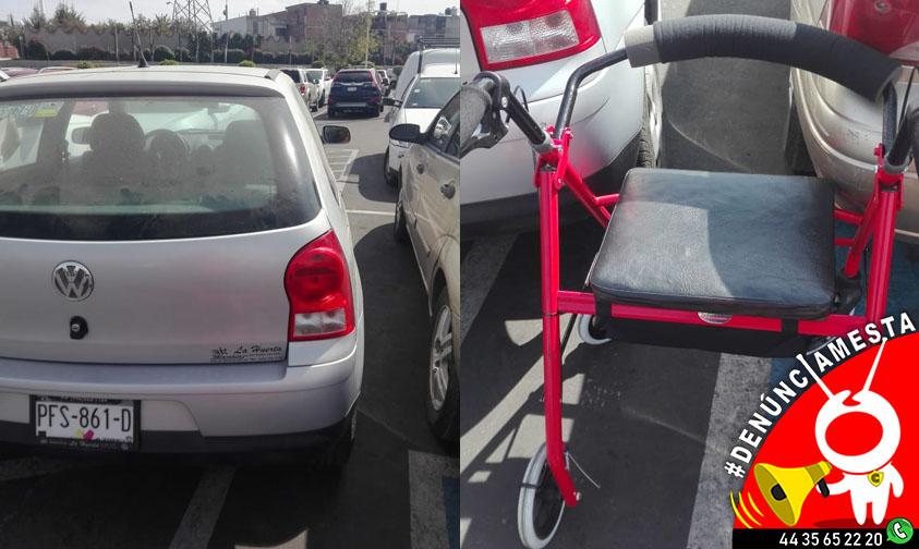 Photo of #Denúnciamesta: No respetan lugares para discapacitados en Costco Morelia