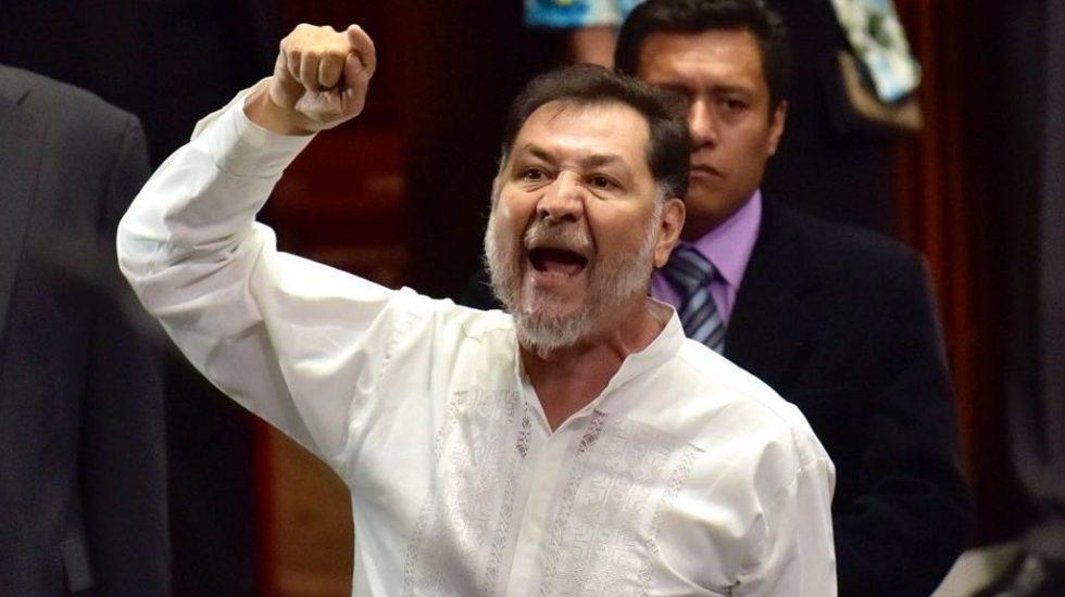 """Photo of ¡Se Armó La Pelea! Noroña Llama A Calderón """"Licenciado En Fraudes Y Alcoholes"""""""