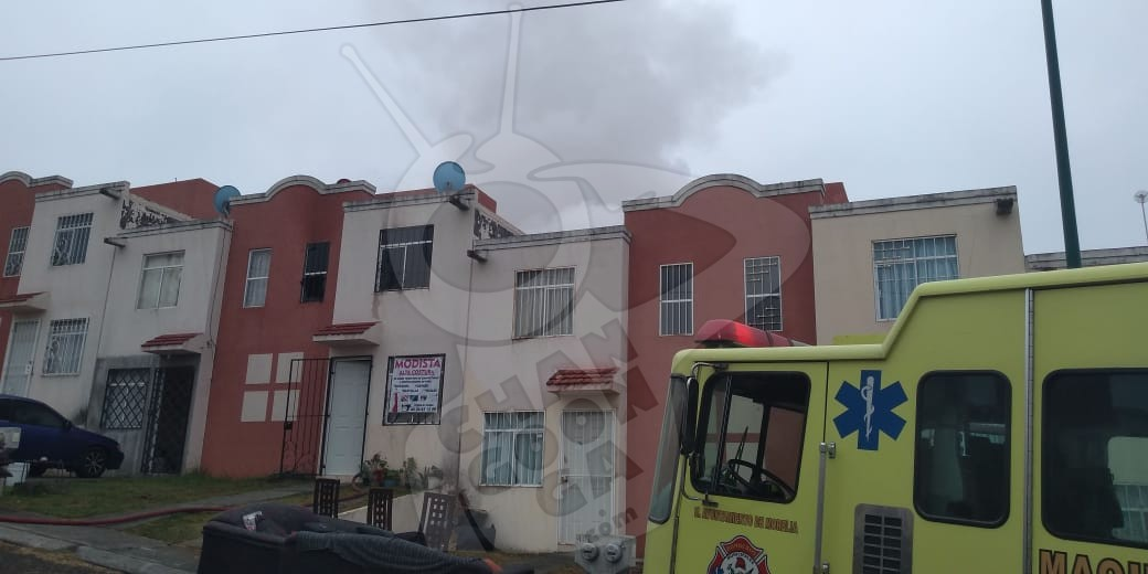 Photo of #Morelia Se Incendia Casa En Lomas De La Maestranza