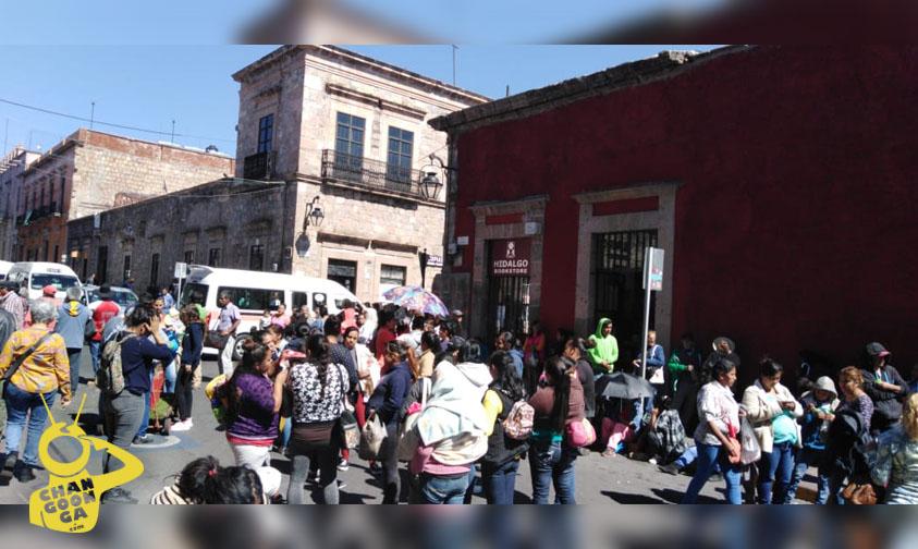 Photo of #Morelia Antorcha Exige Se Respeten Convenios Con Ooapas; Bloquean Paso