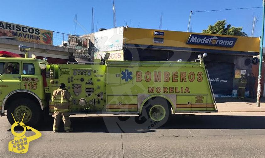 Photo of #Morelia Héroes Sin Capa: Bomberos Apagan Incendio En Un Modelorama