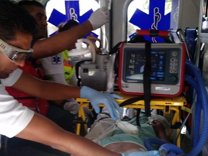 Photo of #Morelia Trasladan En Ambulancia Aérea A Chavo Con Traumatismo Craneoencefálico