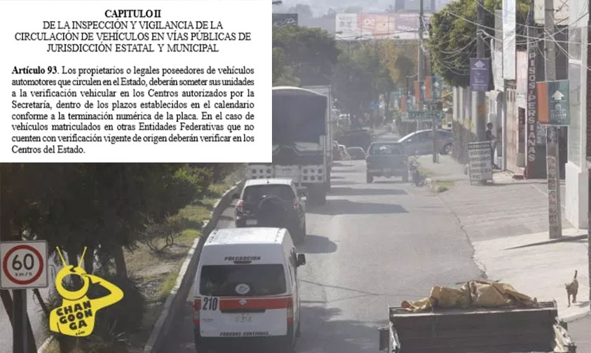 Photo of #Michoacán Prepáren$e! Silvano Promulgó Ya Verificación Vehicular Obligatoria
