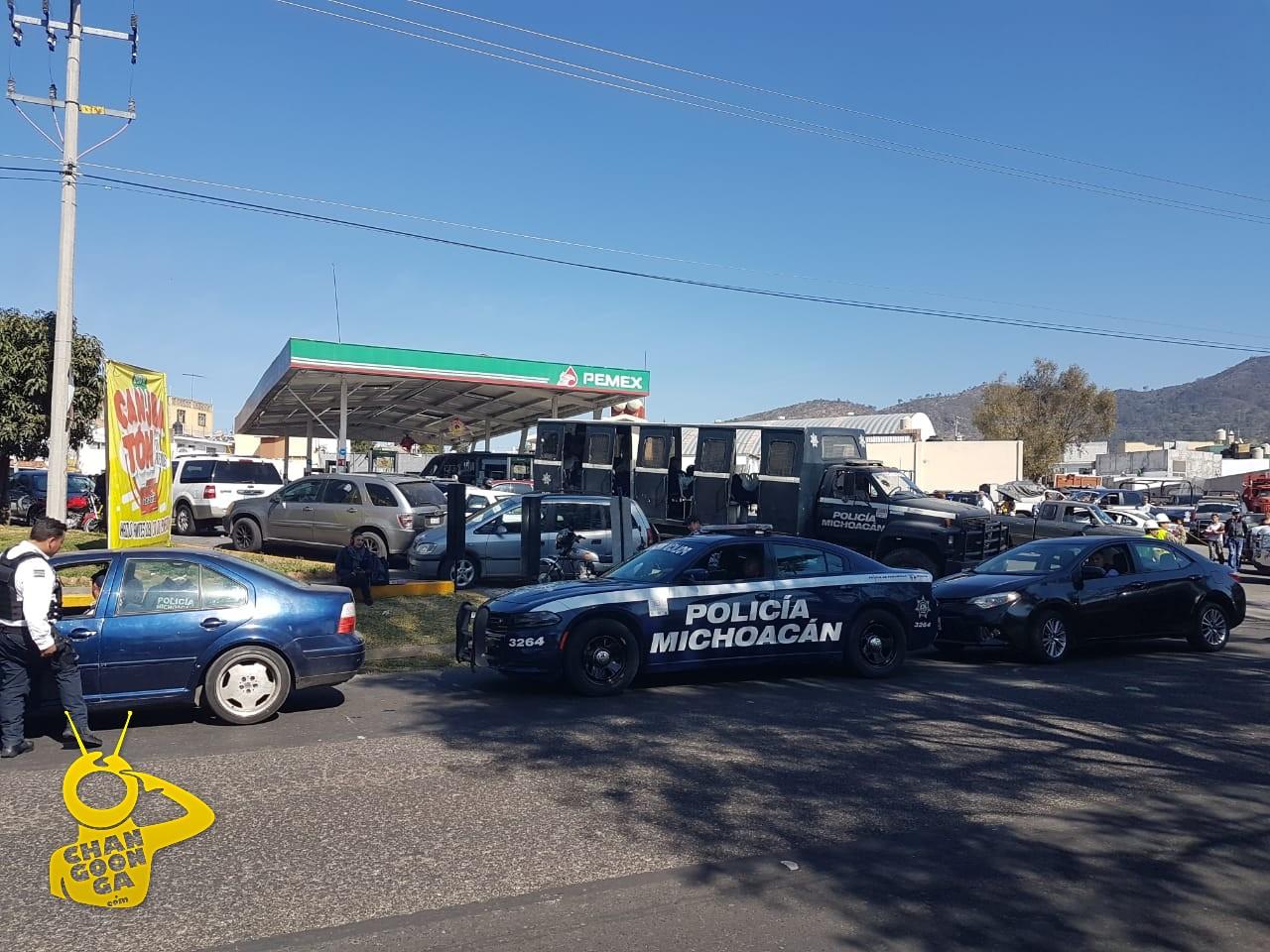 Photo of #Morelia Piden A Ciudadanos A NO Fumar NI Tomar En Gasolinera San Rafael