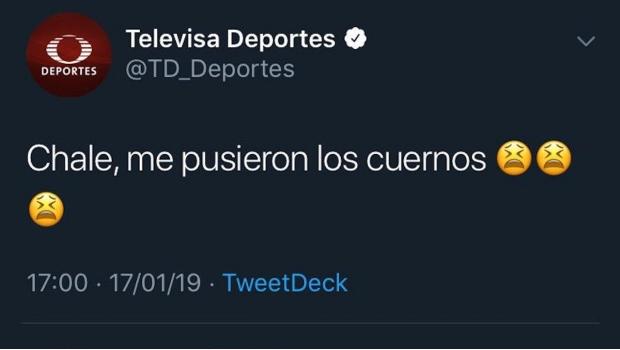 """Photo of Televisa Deportes Se Exhibe, """"Le Pusieron Los Cuernos"""""""
