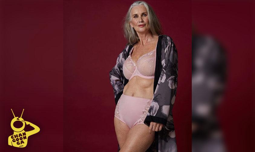 Photo of Abuelita Es Modelo De Lencería Y Se Niega A Que Le Hagan Retoques
