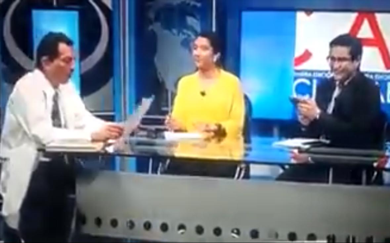 Photo of #Video Resultó Albureada En Programa En Vivo Y Ni Cuenta Se Dio