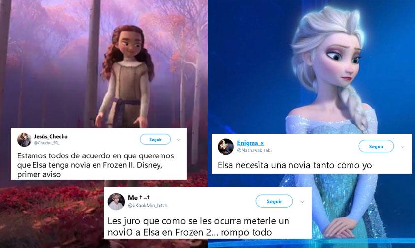 Photo of Así Reaccionaron Twiteros Cuando Vieron Que Elsa Podría NO Tener NOVIA En Frozen 2