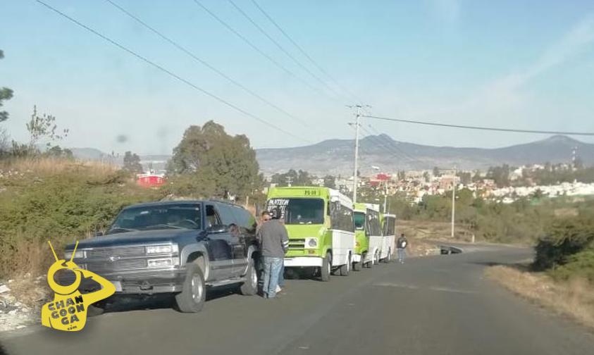 Photo of #Morelia Continúa Conflicto De Transporte Público En Atécuaro
