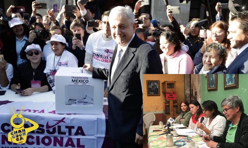 Photo of Consultas Ciudadanas De AMLO Pisotean Los Derechos Humanos, Aseguran