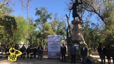 Photo of #Morelia Conmemoran Aniversario Luctuoso De Cuauhtémoc Con Poca Asistencia