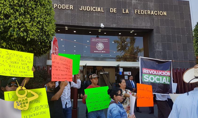 Photo of #Michoacán Acusan Corrupción De Juez Federal Al Liberar A Asesinos Del Teniente Barrientos