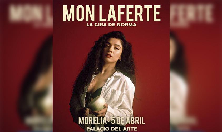 Photo of #Morelia Amárrate Unos Boletos Que Llega Mon Laferte Al Palacio Del Arte