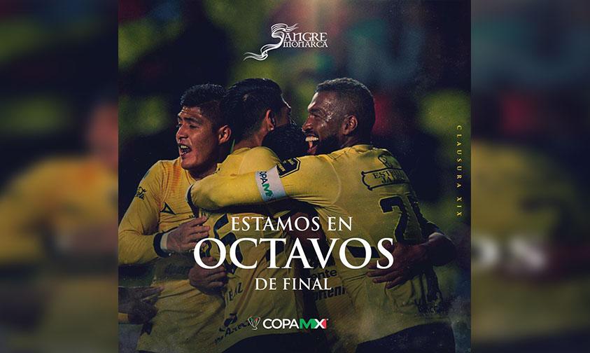 Photo of #FuerzaMonarcas Llega Invicto A Octavos De Final De La Copa MX 2019