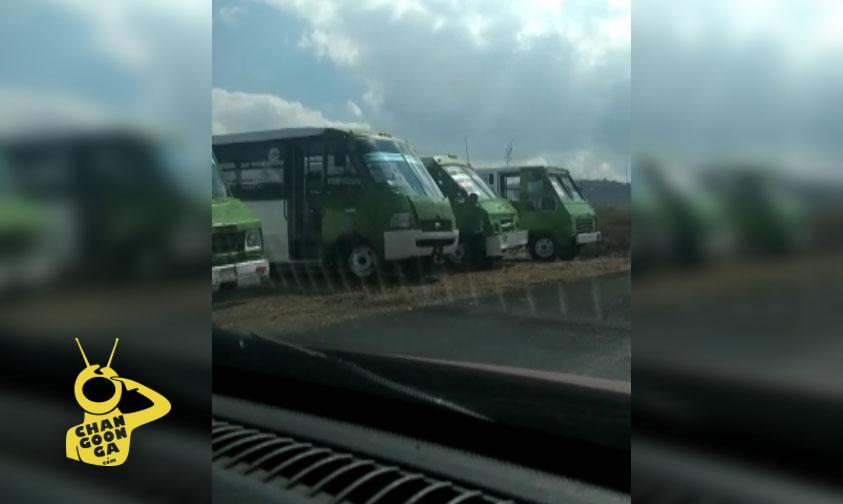 Photo of #Morelia Combieros De Ruta Guinda Detienen Camiones En Villas Del Sur