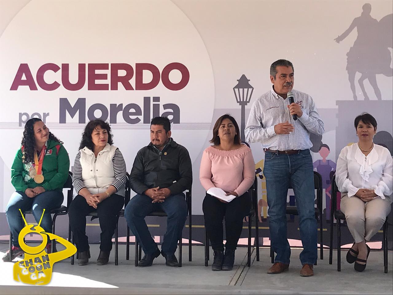 Photo of #Morelia Morón Se Compromete A Crear Ciclopista y Cancha De Fútbol En Villa Magna