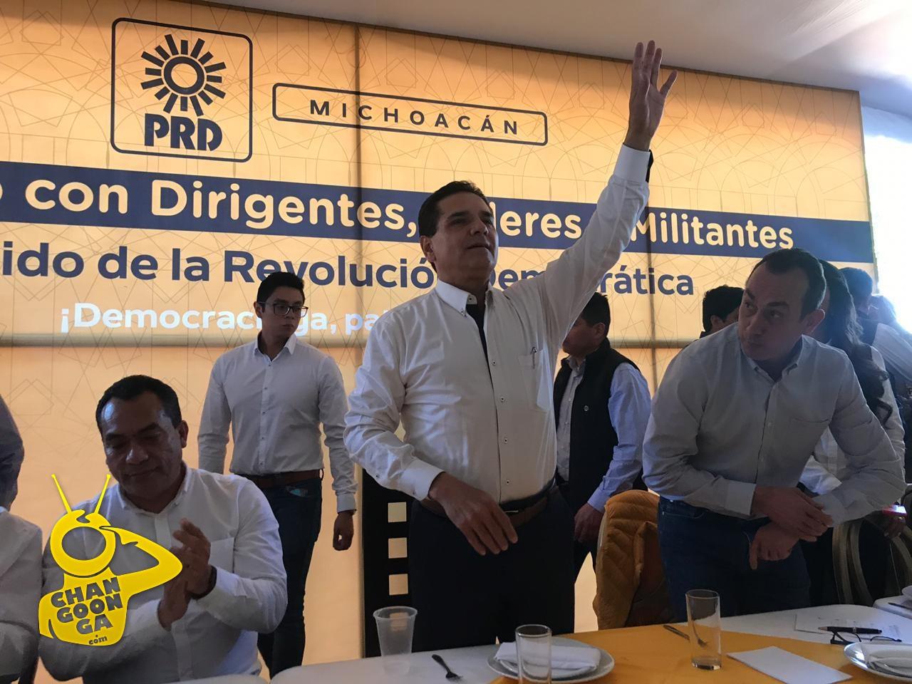 Photo of #Michoacán PRD No Va A Desaparecer, Asegura Silvano