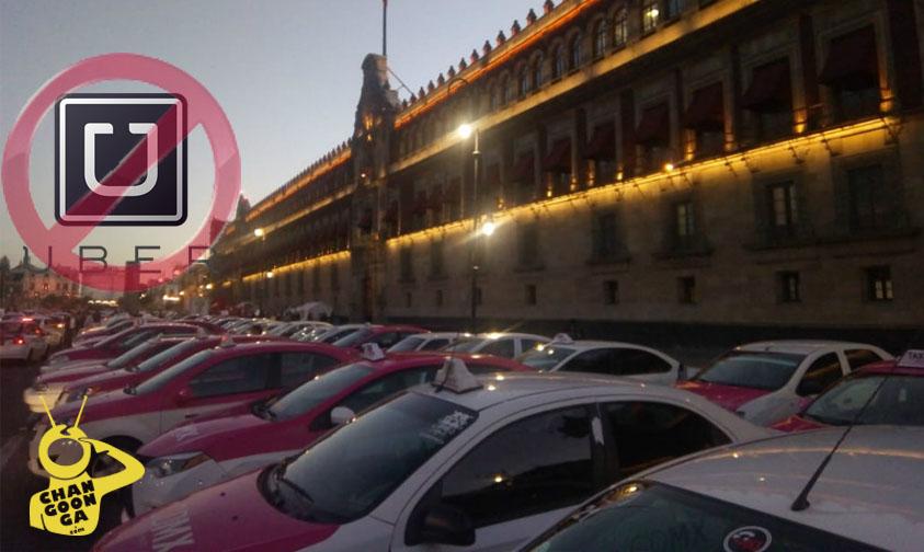 """Photo of #Video Taxistas Piden Unidad Nacional Contra Uber Y Transportes Similares Por Ser """"Desleales"""""""