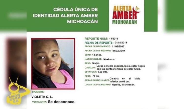 Photo of PGJE Halla En Cuitzeo A Violeta De 13, Reportada Desaparecida En Morelia