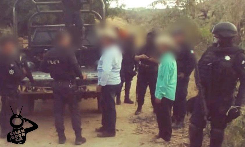 pistoleros Tuzántla Michoacán