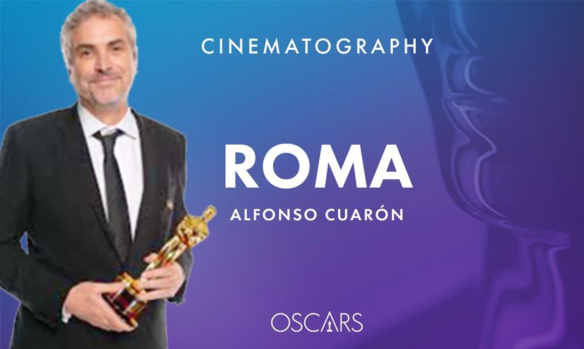 """Photo of Llega El Primer Oscar Para """"Roma"""" Y Es El De Mejor Fotografía"""