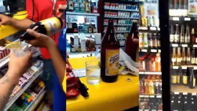 Photo of #VIDEO Lo Que Nos Faltaba: Exhiben Caguamas Victoria 'Huachicoleadas' Con Agua..!
