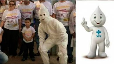 "Photo of #WTF Usan Botarga Del ""Ku Klux Klan"" Para Que Niños No Tengan Miedo A Vacunas"