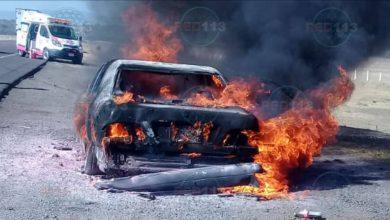 Photo of #Michoacán Auto Se Incendia En La Morelia-Salamanca
