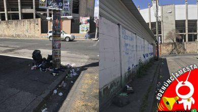 Photo of #Denúnciamesta: Calles quedan con basura luego de evento en Monumental de Morelia