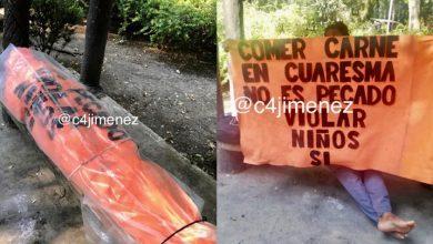 Photo of #CDMX Vecinos Aseguraban Era Un Cadáver Embolsado Con Mensaje