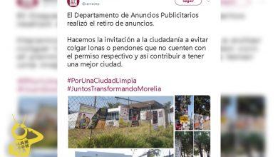 Photo of #Morelia Ayuntamiento Retira Anuncios Sin Permiso; Pide No Colocarlos