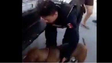 Photo of #Video Policías De Cozumel Arrastran Perrito Atado A Patrulla