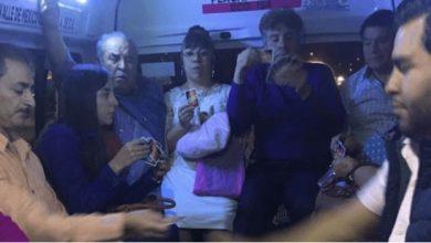 Photo of #Video En Estado De México Pasajeros De La Chombi Se Echan Ronda De UNO